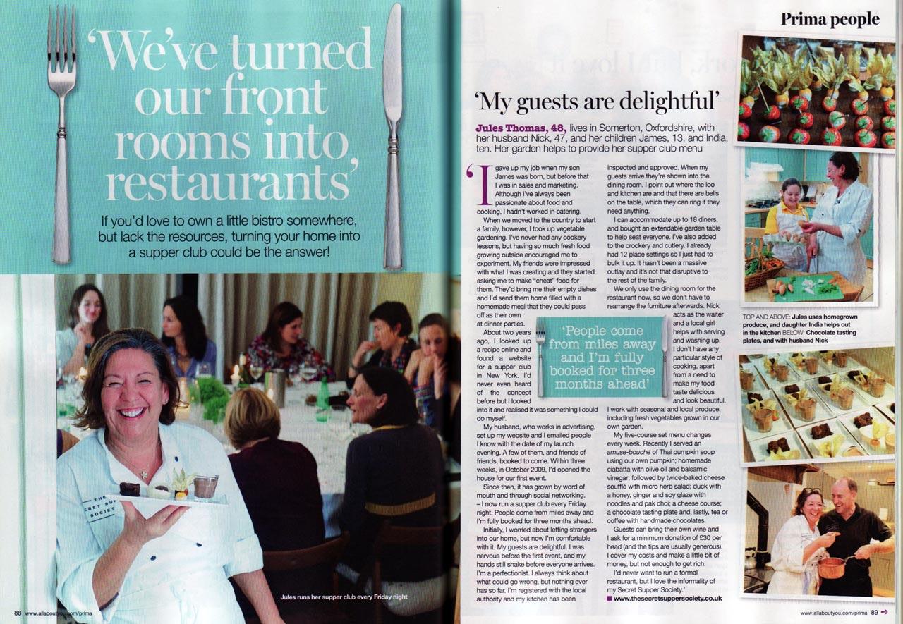 Prima Magazine March 2012