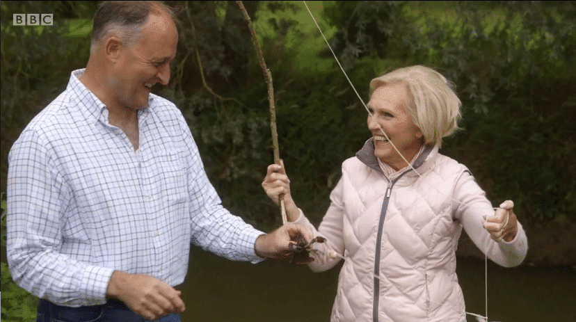 Mary Berry Meets Nick And Jules
