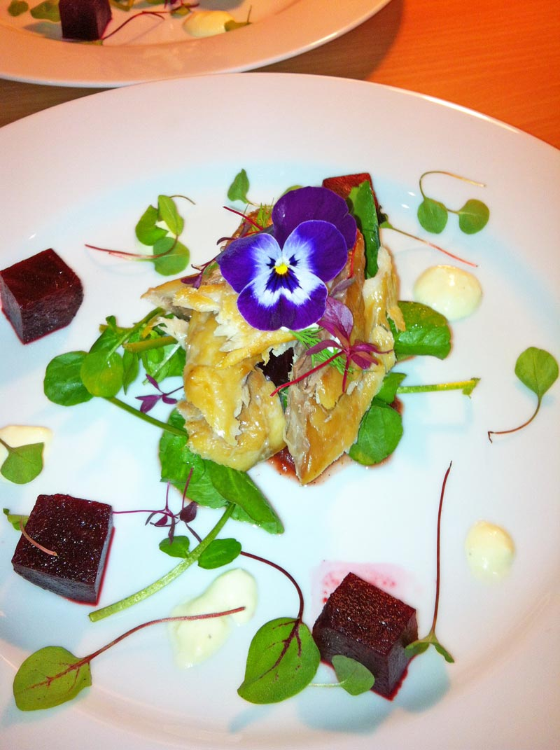 Home Smoked Mackerel Salad