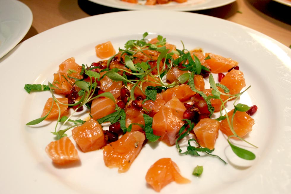 Salmon Confit