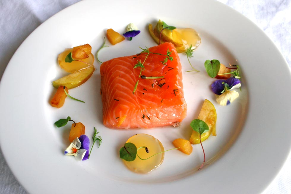 Confit Salmon Filet