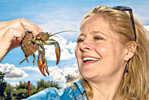 Xanthe Clay On Crayfish