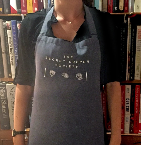 The Secret Supper Society Apron