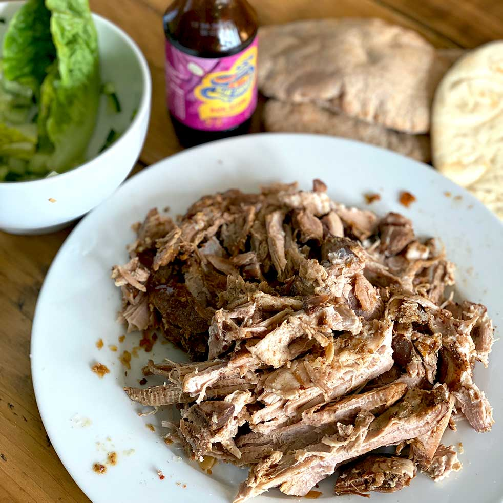 SLOW COOKED ASIAN PULLED PORK
