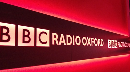 BBC Radio Oxford Sign