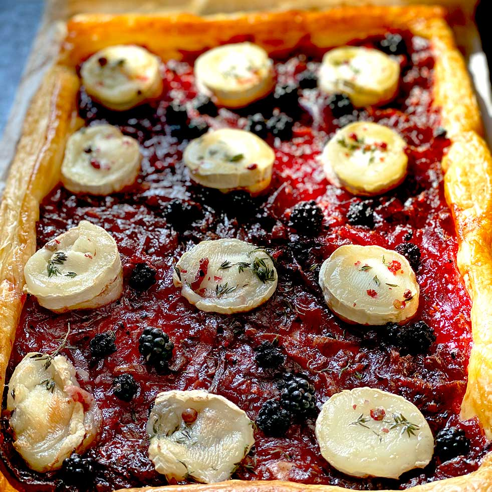 Onion And Goat Cheese Tart