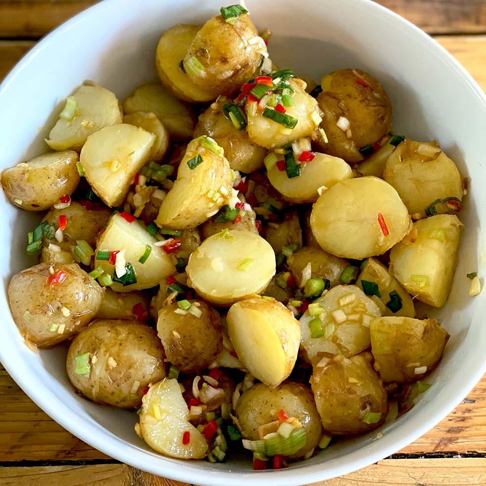 Thai Flavoured Potato Salad