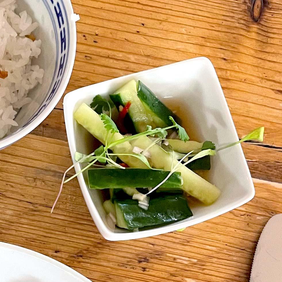 Vietnamese Cucumber Salsa